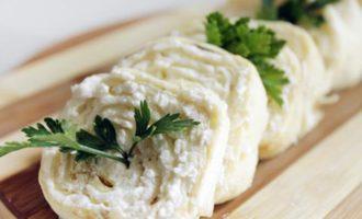 рулет с сыром