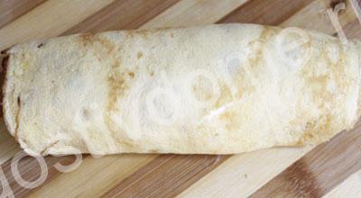 рулет с плавленным сыром