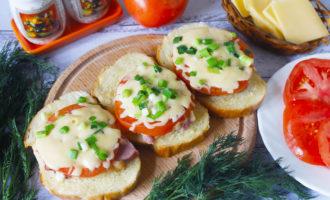бутерброды с сыром горячие