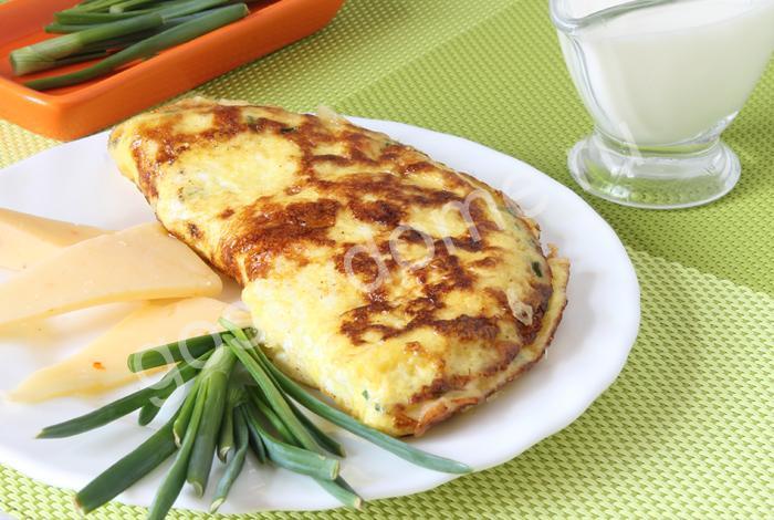 омлет с сыром фото