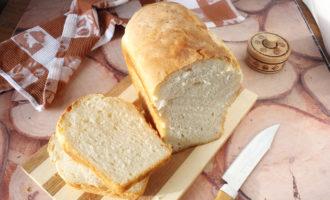 хлеб в духовке фото