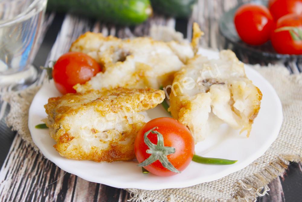 фото к рецепту треска жареная на сковороде рецепт с фото пошагово