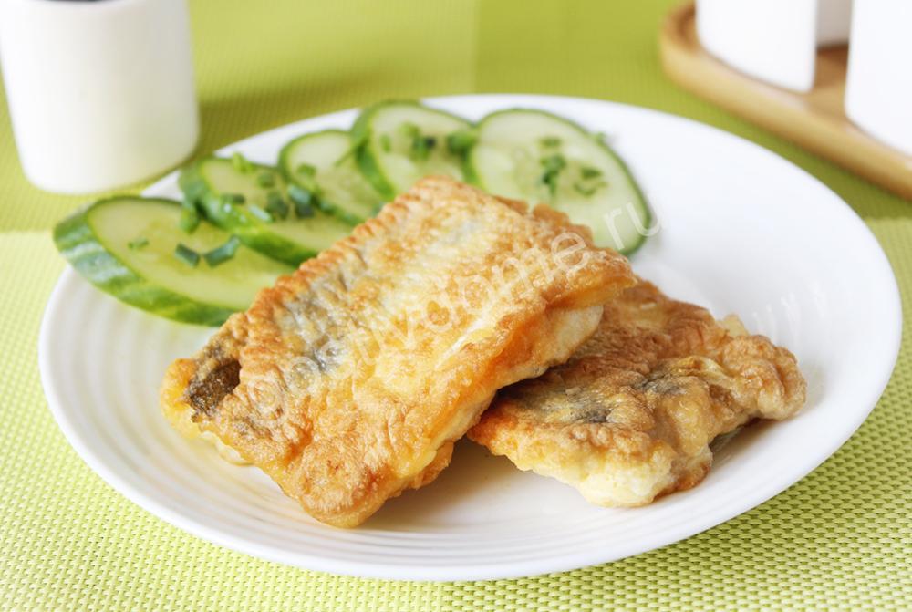фото  рецепту филе хека в кляре на сковороде