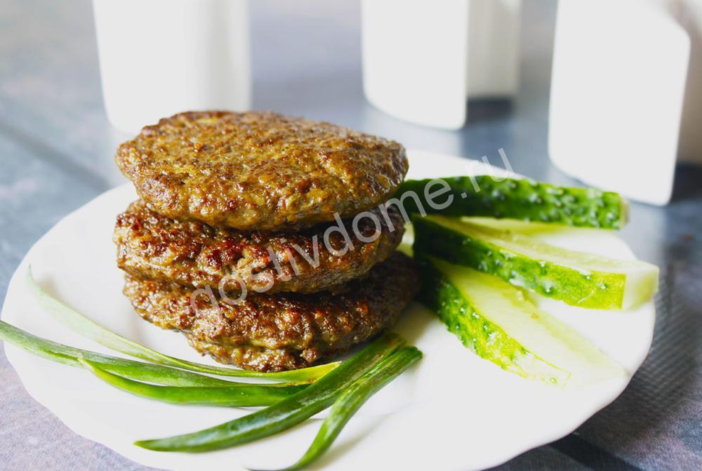 фото к рецепту котлеты из печени говядины